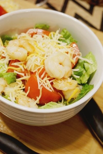 Bruschetta Shrimp Salad