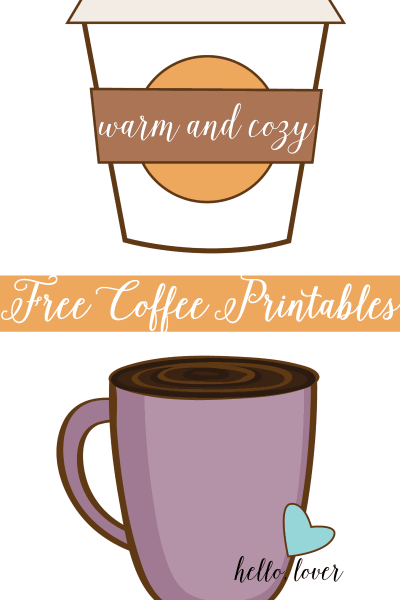 Free Coffee Prints