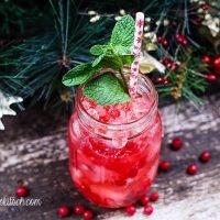 Fiery Peppermint Cocktail