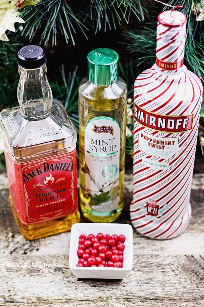 Peppermint Cocktail Ingredients
