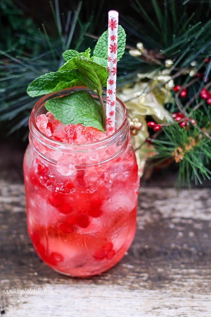 Peppermint Cocktail Recipe