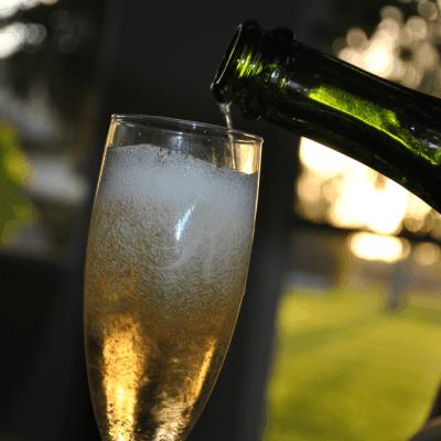Lovoka Cocktails: Caramel Apple + Champagne