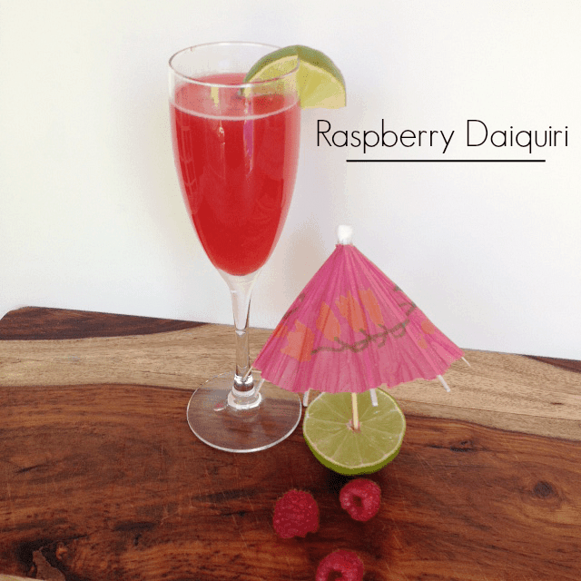 Raspberry Daiquiri Cocktail