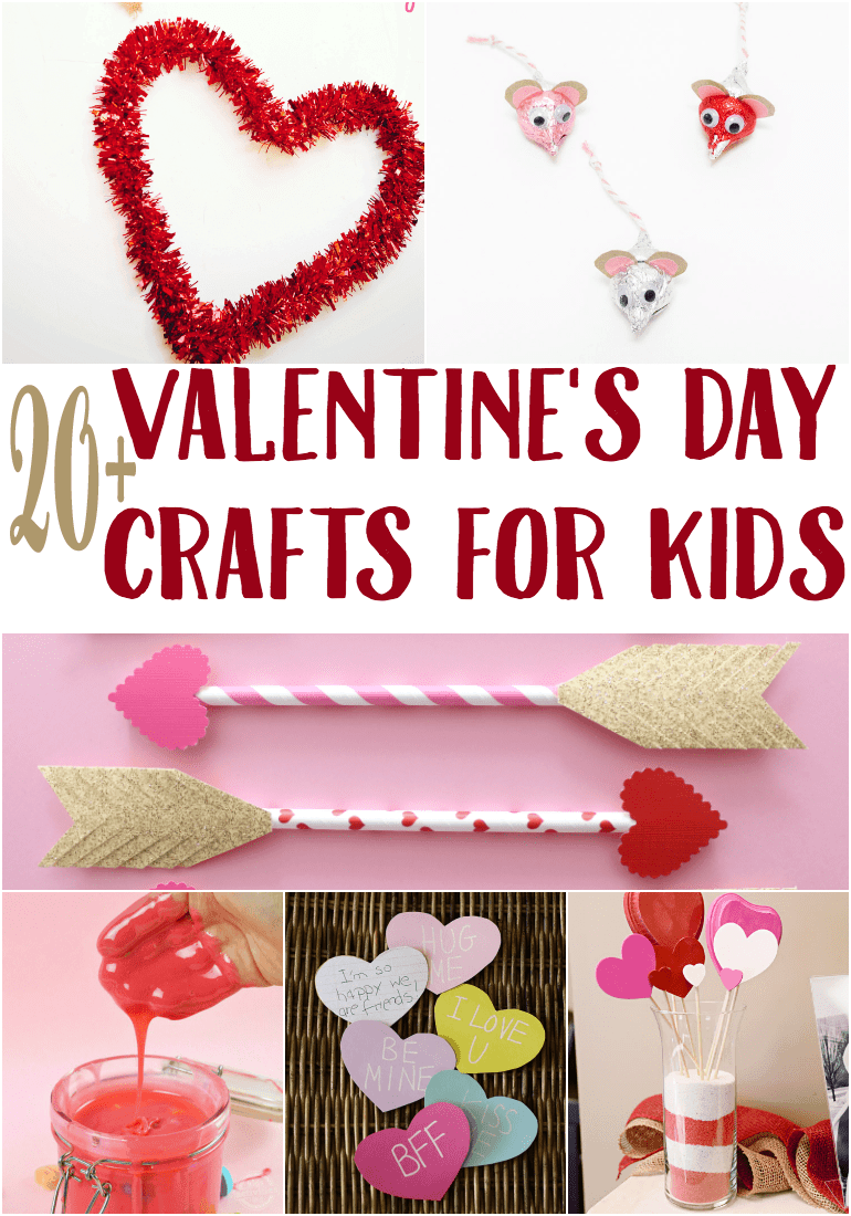 v-day crafts for kids