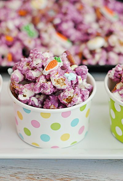 A Sweet Easter Treat: Pretzel Popcorn