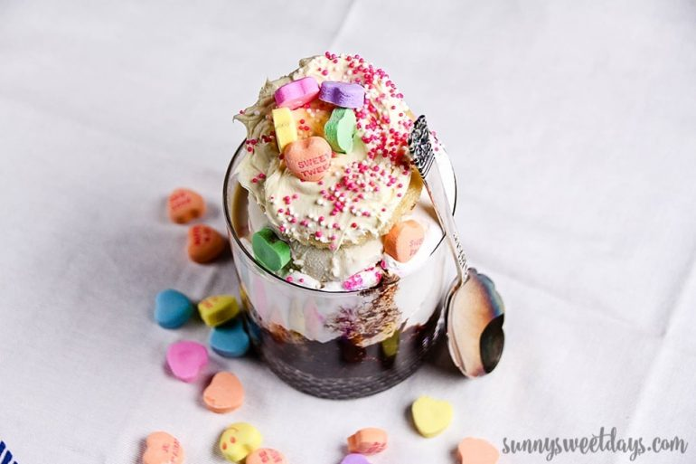 The Valentine's Sundae Cocktail