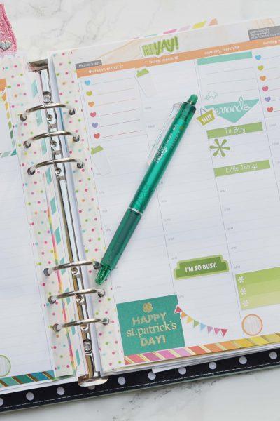 Erin Condren Hourly Planner