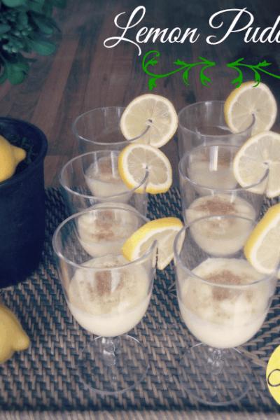 Spring Party Dessert: Lemon Pudding Recipe