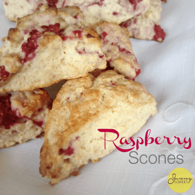 Easter Brunch: Raspberry Scones