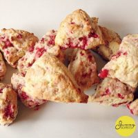 Easter Brunch: Raspberry Scones