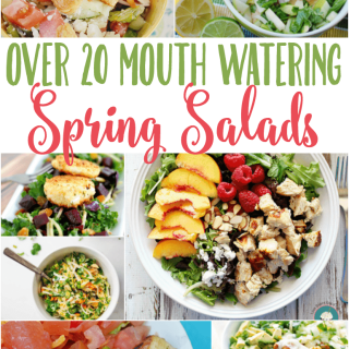 20+ Simple Spring Salads