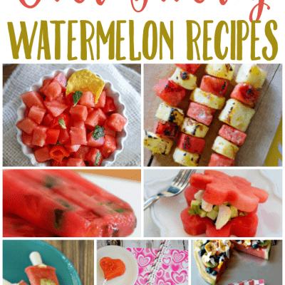 20+ Watermelon Recipes
