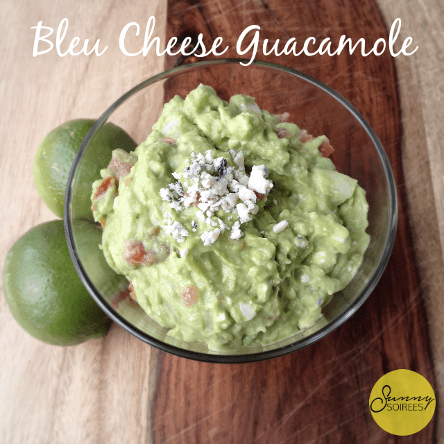 Bleu Cheese Guacamole