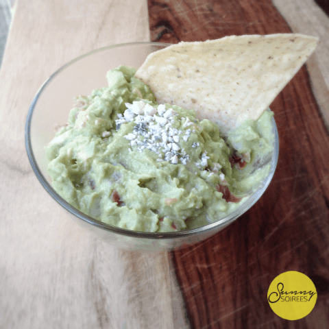 Bleu Cheese Guacamole Recipe
