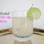 Summer Mocktails: Grapefruit Lime Spritzer