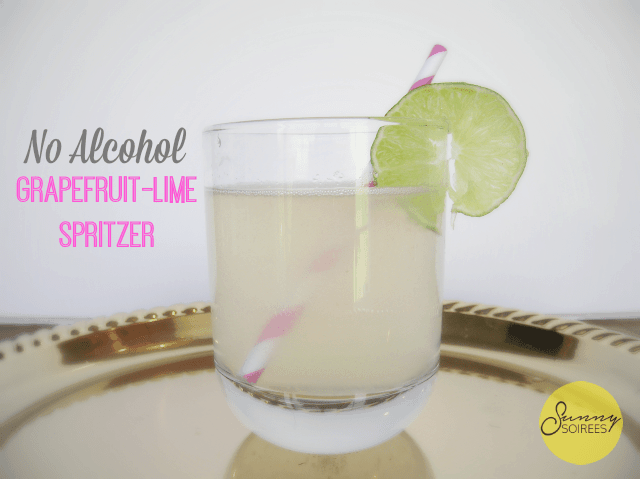Grapefruit Lime Spritzer