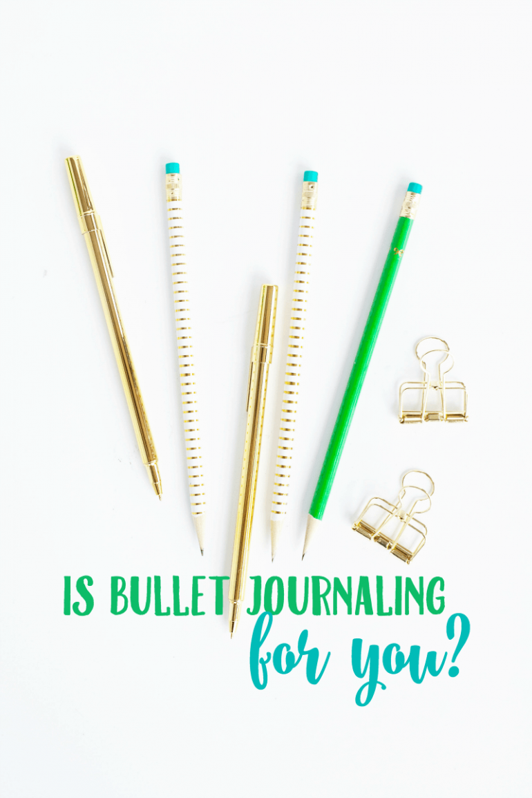 Is Bullet Journaling For You