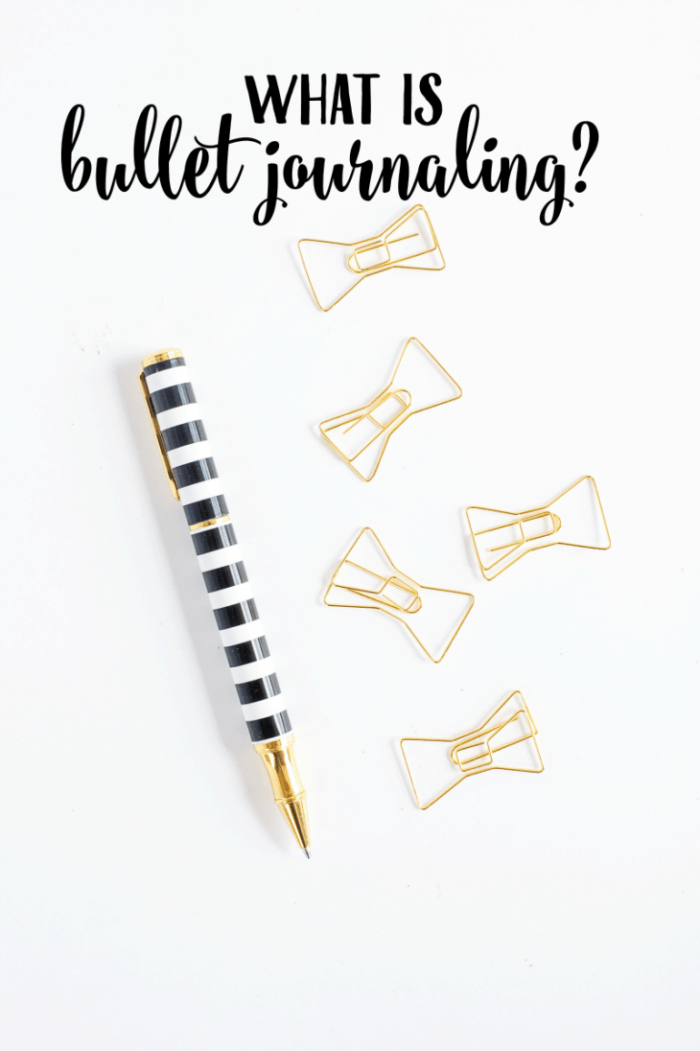 What is Bullet Journaling
