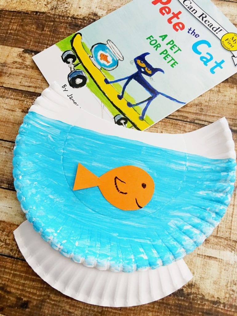 Pete the Cat Craft Idea
