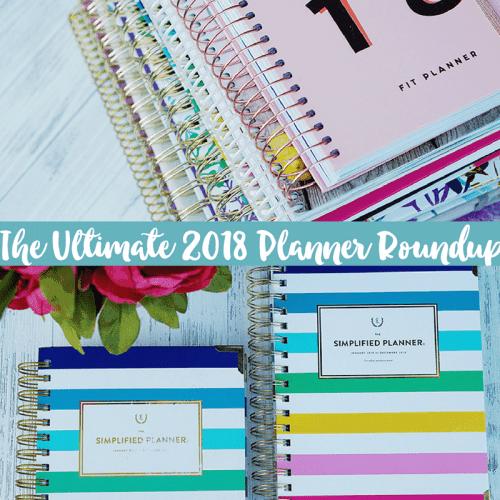 2018 Planner Reviews