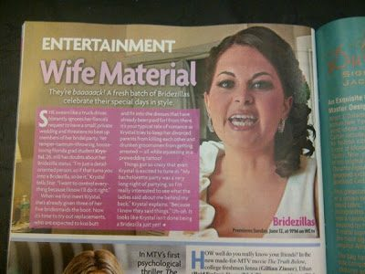 So… I'm in Star Magazine this week