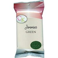 CK Products Green Jimmies/Sprinkles Decorations 1lb. Bag