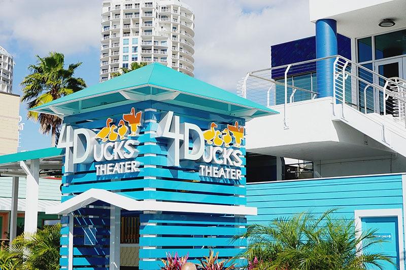 4D Theater at the Florida Aquarium in Tampa, Florida