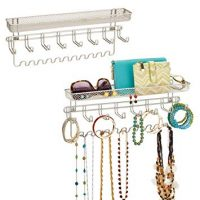 Wall Mount Jewelry Accessory Organizer