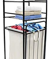 Sorbus Bathroom Tower Hamper