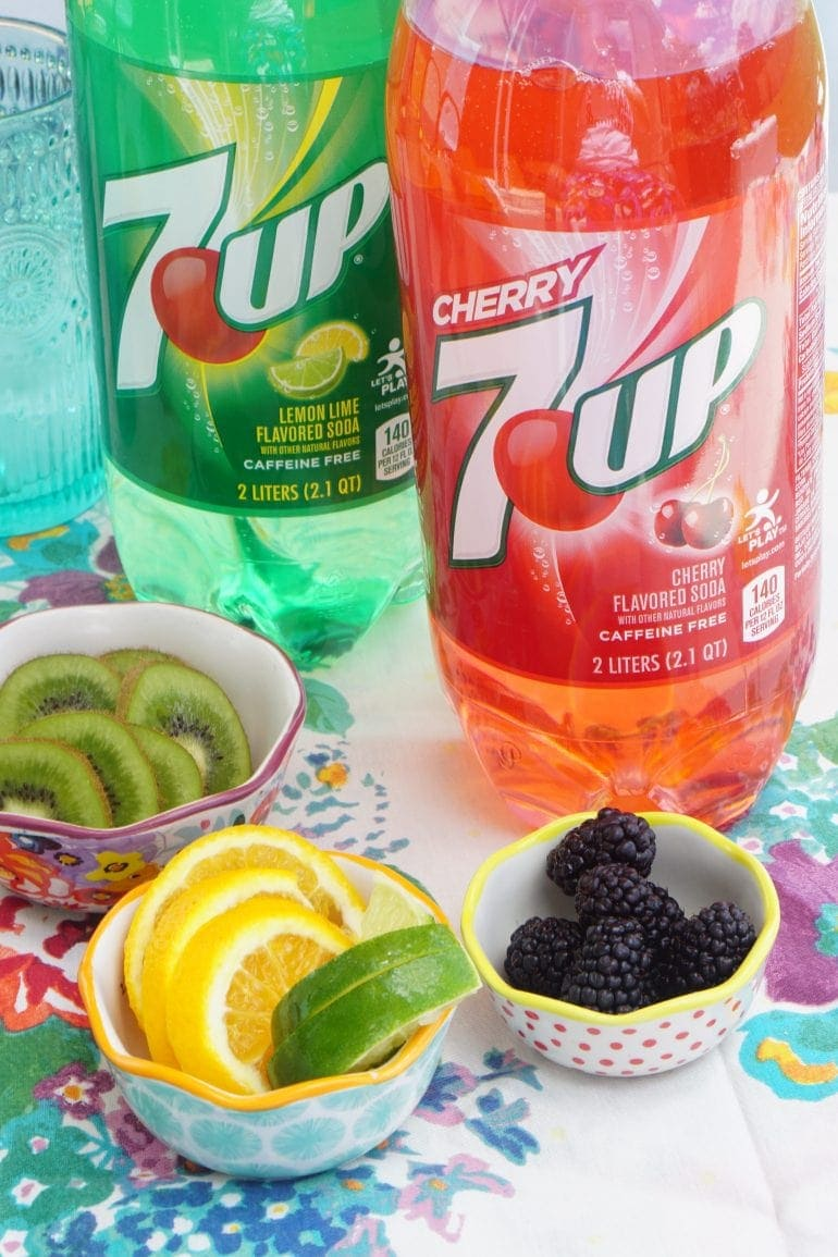 7UP Cherry Cocktail Bar Recipe