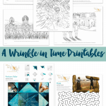 A Wrinkle in Time Printables #WrinkleInTime