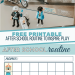 Make After School Moments Matter | After School Routine Printable Checklist