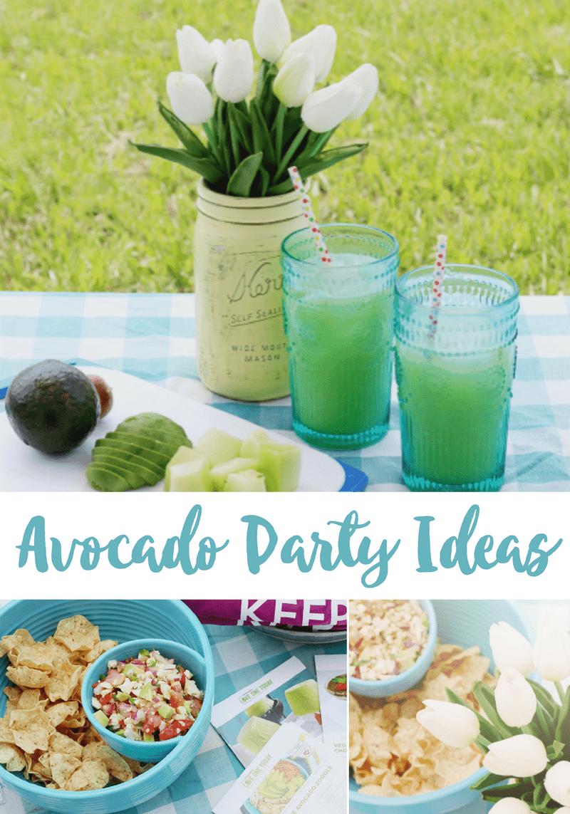 Avocado Party Ideas
