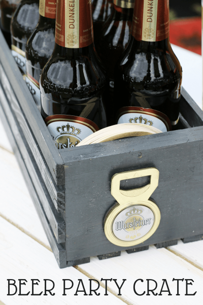 DIY Beer Party Crate