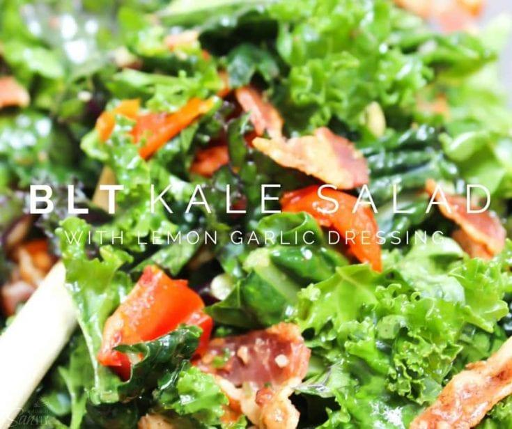 """BLT"" Kale Salad"