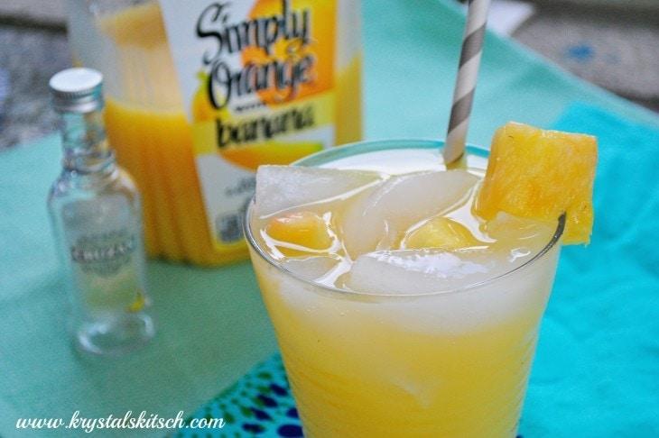 Banana Breeze Cocktail