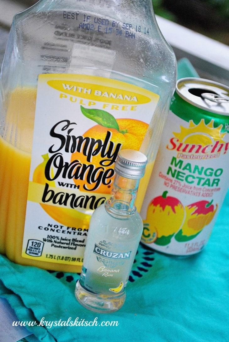 Banana Rum Cocktail