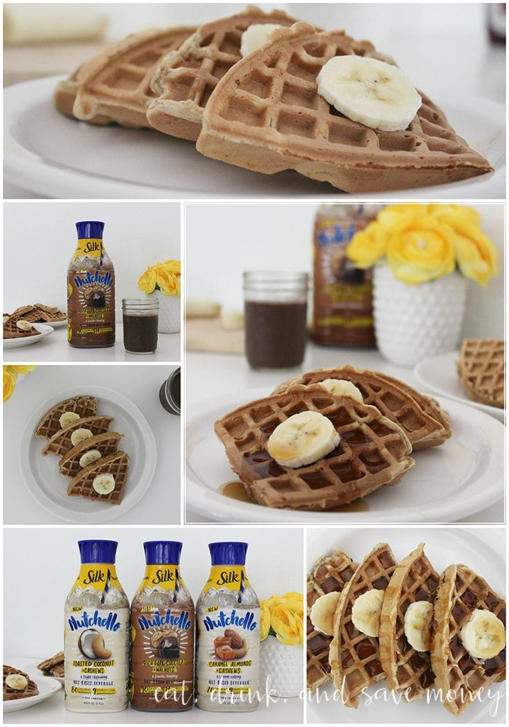 Guilt free indulgence: Nutchello + waffles