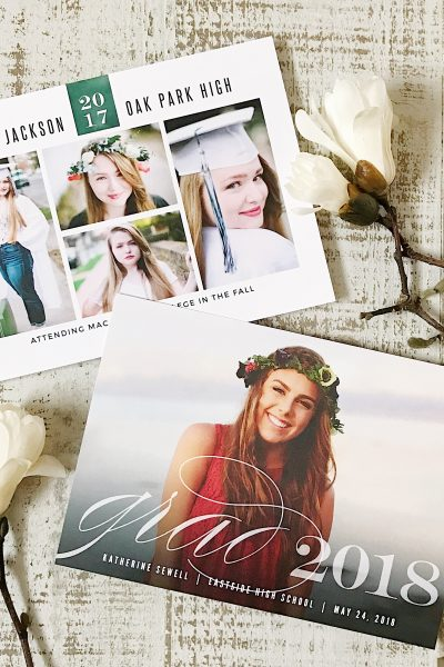 Celebrate With Basic Invite: Graduation Photo Invitations + Thank You Cards