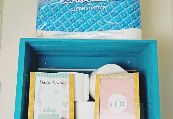 Upgrade Your Bathroom Organization: DIY Crate Shelves