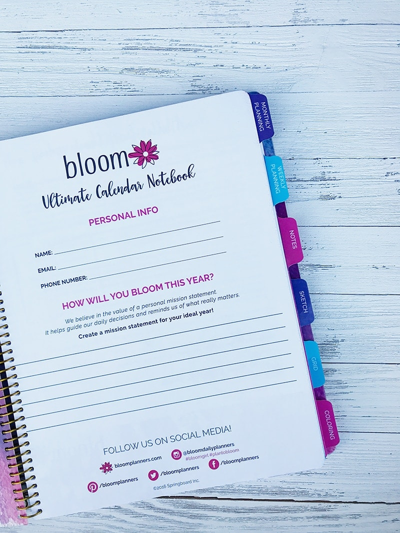 Bloom Daily Planner Review