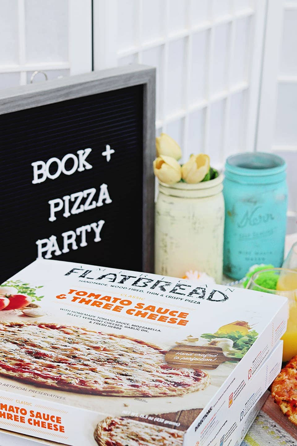 Bubbles and Book Club: American Flatbread Pizza Party