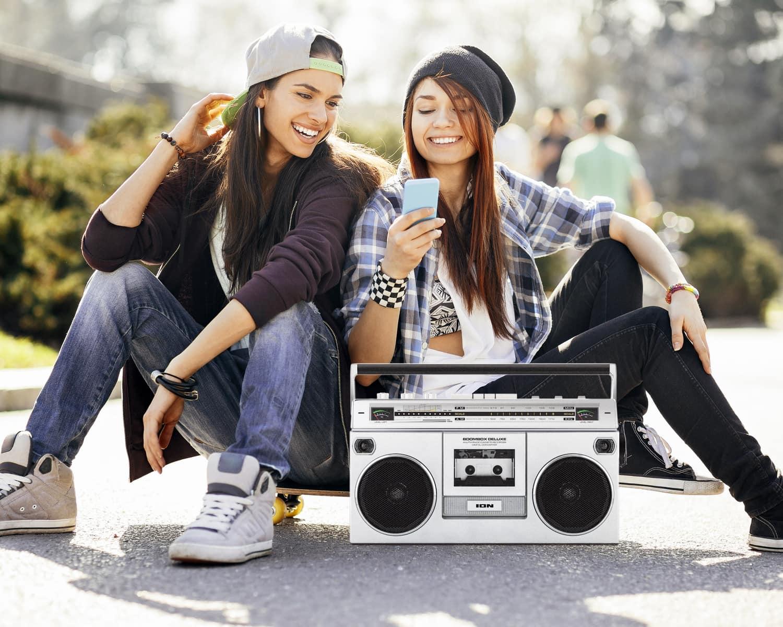 Retro 80s Gift Idea: ION Boombox Deluxe Bluetooth Speaker
