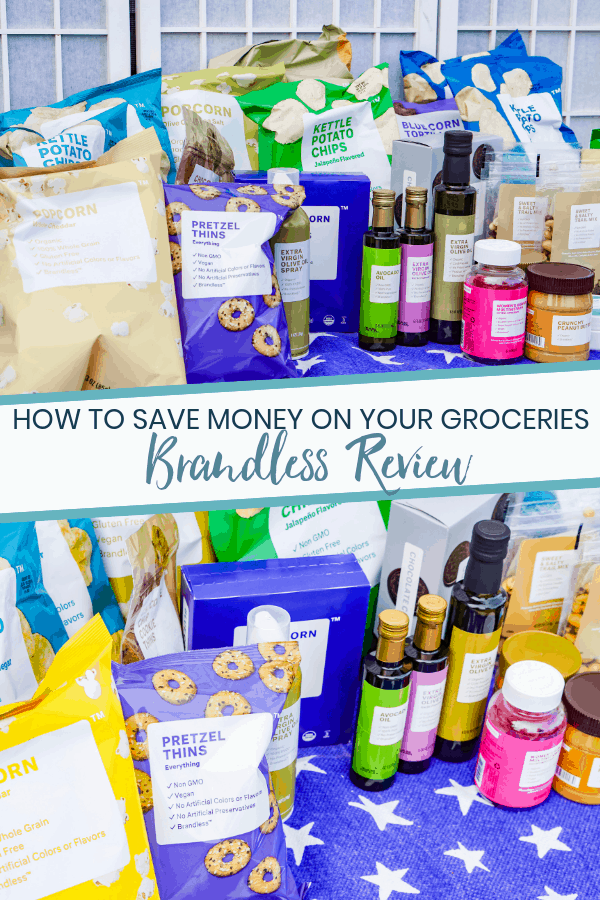 How to Save Money on Groceries: Brandless Review