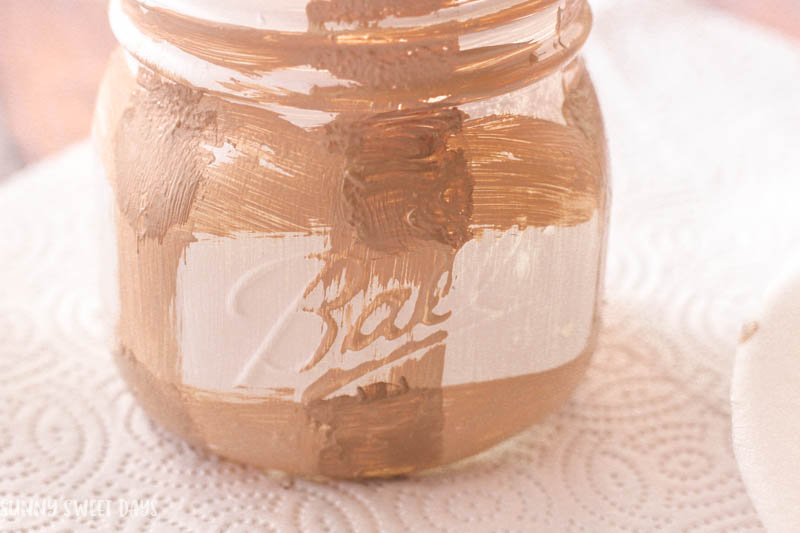 Buffalo Check Mason Jar