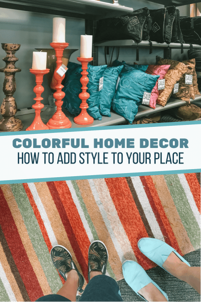 Colorful Home Decor on a Budget