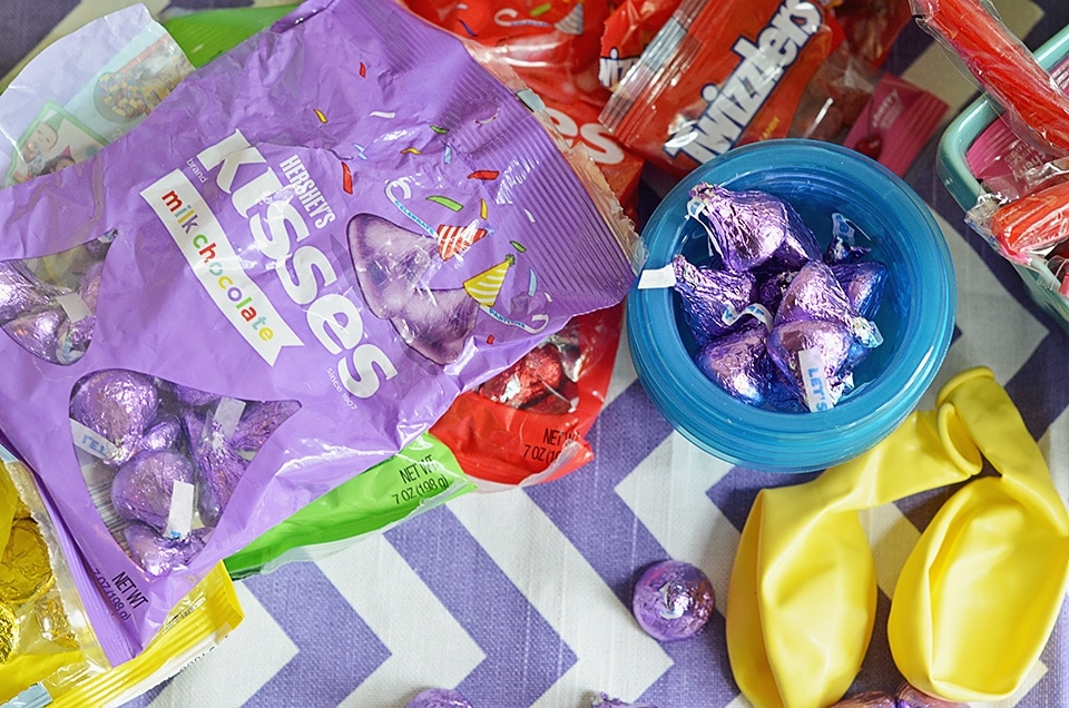 Colorful Candy Birthday Party