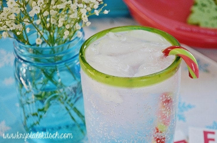 Candy Cane Cocktails