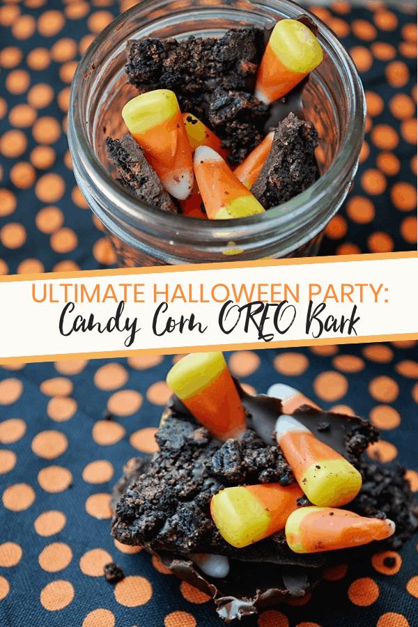 Halloween Treats: Candy Corn Oreo Bark