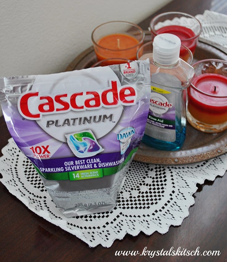 Cascade Platinum Dishwashing Soap